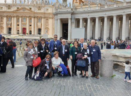Papa Francesco incontra il gruppo AIDO della Sardegna