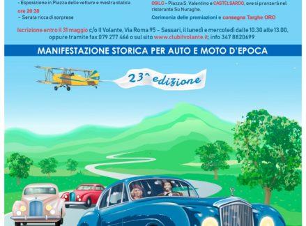Manifestazione storica per auto e moto d'epoca